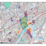 Topografía urbana de la Córdoba emiral sobre planimetría actual de la ciudad (Convenio GMU-UCO).