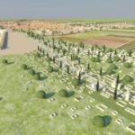 Necrópolis oriental en torno a la vía augusta (AST)